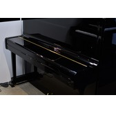 Secondhand Yamaha U1 Upright Piano Black Polyester