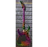 Jackson Pro Series Soloist SL3M, Rainbow Crackle, Maple