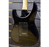 Jackson JS Series Dinky JS12, Gloss Black, Amaranth