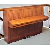 Secondhand Fuchs and Moore Rondo Upright Piano in Light Mahogany
