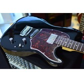 Godin Session Custom '59 - Black HG Rosewood Neck Electric Guitar & Case