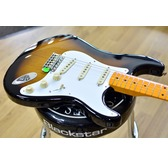 Fender Classic Series '50s Stratocaster Lacquer, 2-Colour Sunburst, Maple