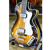 Hofner HCT Club Bass Guitar - Sunburst