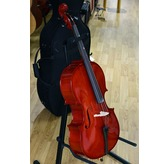 Secondhand 1/4 Size Cello with Hard Case by Gear4Music