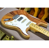 Fender Rarities Flame Koa Top Stratocaster, Maple, Natural