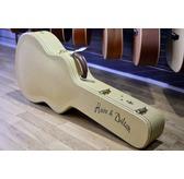 Huss & Dalton TOM-M Custom Figured Tortoise Mahogany OM Acoustic Guitar & Case