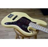 Fender American Original '70s Jazz Bass, Vintage White, Maple