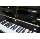 Yamaha P116 Black Polyester Upright Piano
